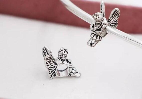 ab61bc2f0 Pandora charms Angel fairy wings guardian angel charm   Etsy