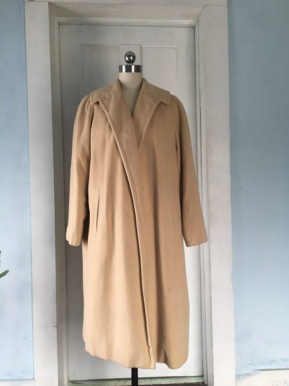 1950s cashmere coat