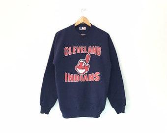 Chicago Cubs Junge Kinder Vintage Jacke Baseball MLB Blau Weiß Rot GR M 8-10 Weitere Ballsportarten Fanartikel