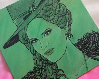 Painting Wicked Witch