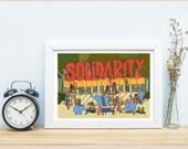 A3 Solidarity Print