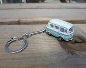 VW Camper Van Bay Window Key Ring