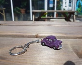 Morris Minor Saloon Key Ring