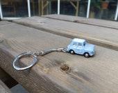 Mini Saloon Car Model Key Ring