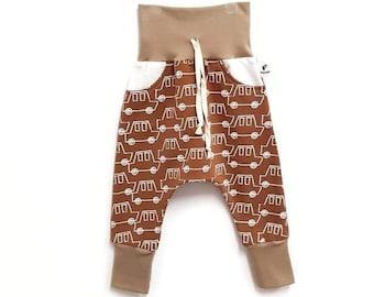 4074ca3e53 Pantalon sarouel slim CARS CARAMEL pour bébé et garçon en sweat bouclette  oeko-tex 100