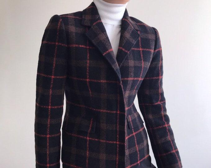 90s Wool&Angora Blazer