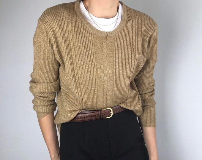 Vintage Camel Knit