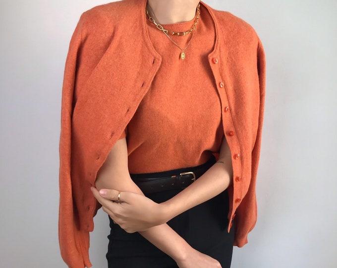 Angora Knit Set