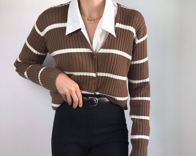 Vintage Ribbed Knit