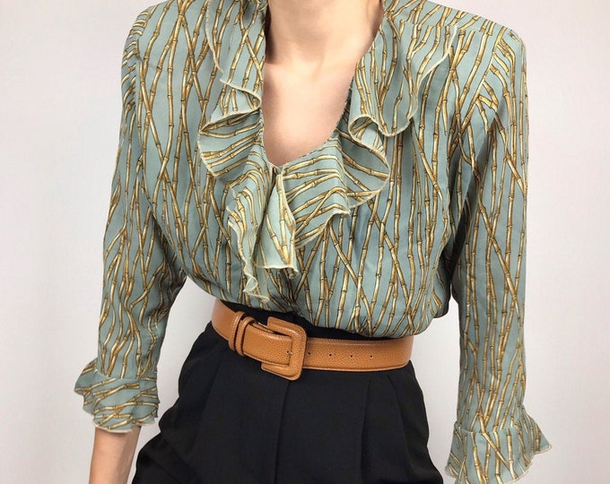 Vintage Bamboo Blouse