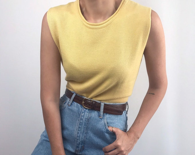 Vintage Lemon Knit