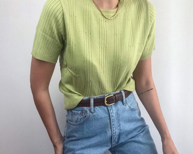 Vintage Pistachio Knit