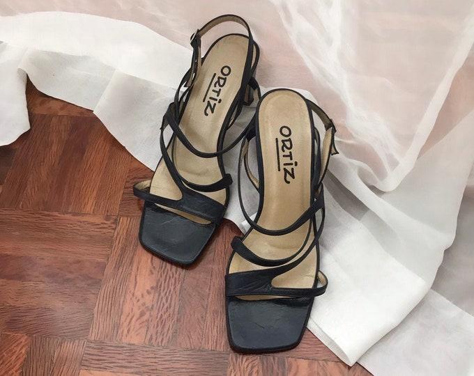 Vintage Strap Sandals