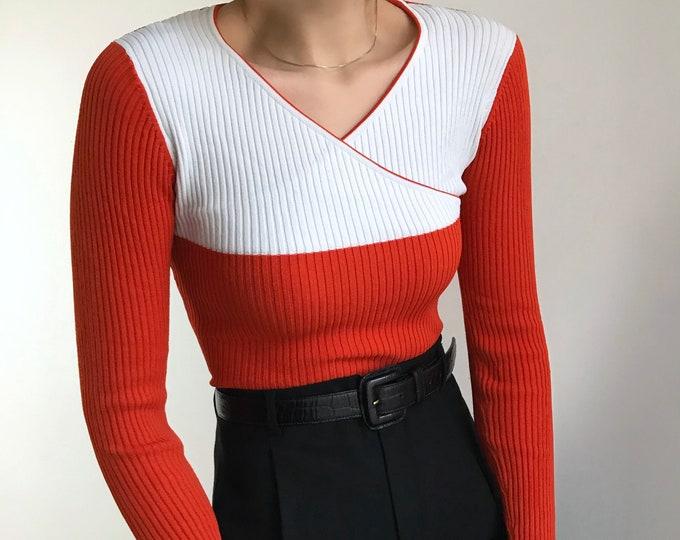 Vintage Wrap Knit