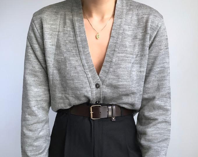 Vintage Gray Cardigan