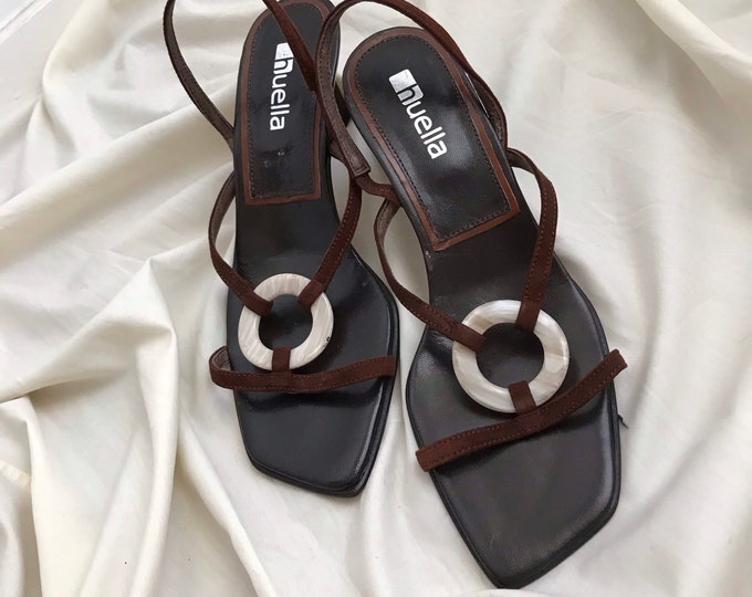 Vintage Chocolate Sandals