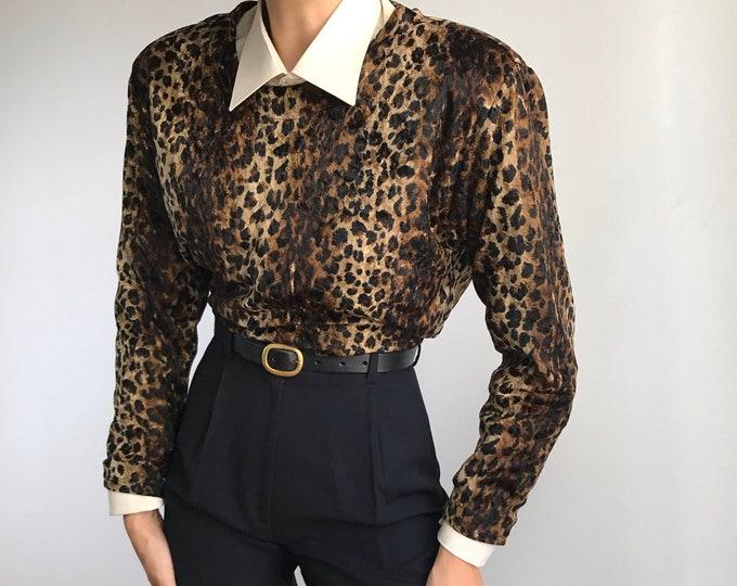 Vintage Leopard Top