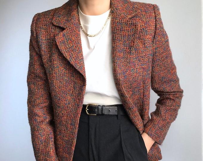 Vintage Multicolor Blazer