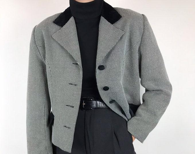 Vintage Crop Blazer