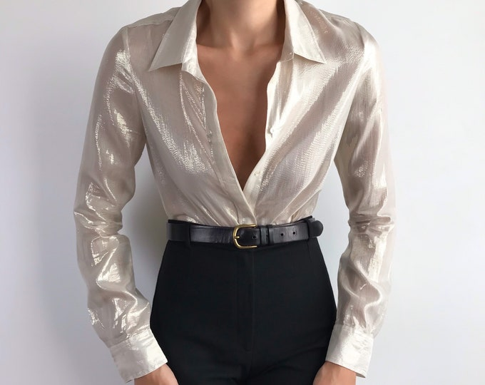 Maje Metallic Shirt
