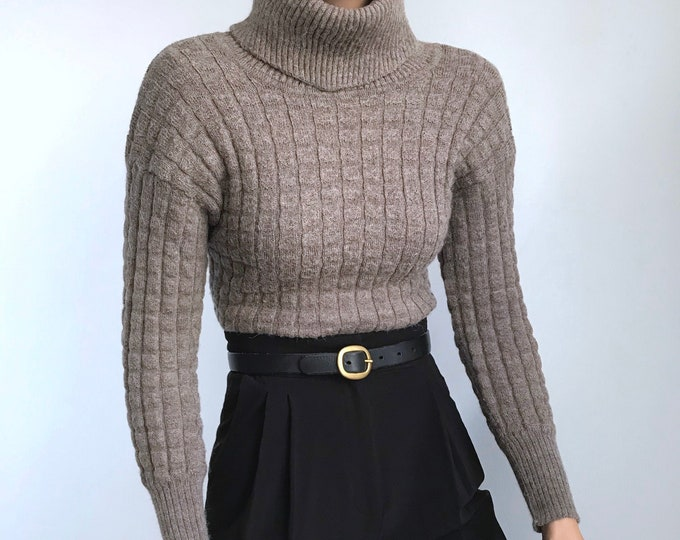Vintage Taupe Sweater
