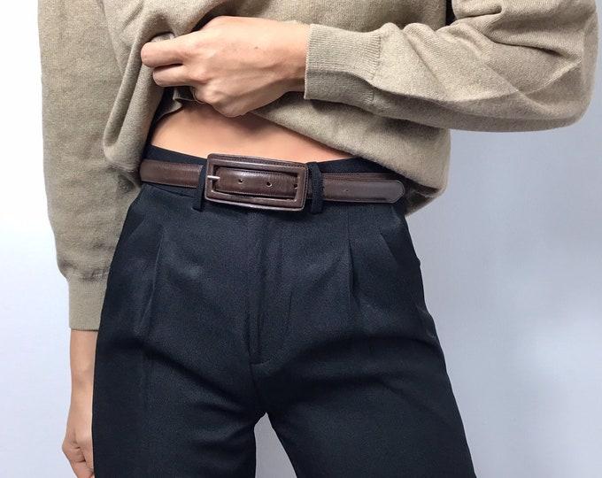 Vintage Chocolate Belt