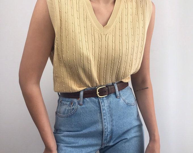 Vintage Buttercup Knit