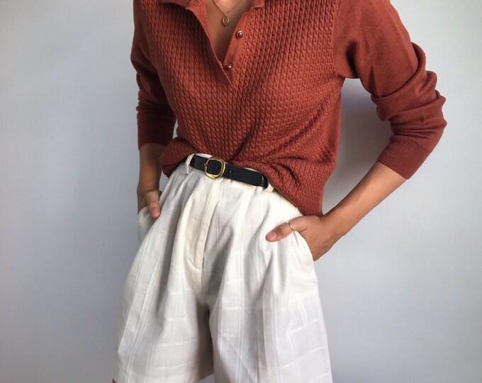 Vintage Column Knit
