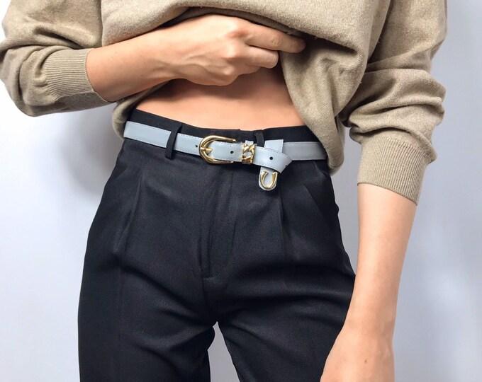 Vintage Gray Belt