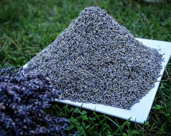 2 lb Highly Scented French Lavender Flowers - 2017 Provence Harvest - Lavender Buds - Potpourris - Dried Lavender - Mothers Day Gift