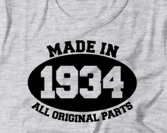 Mens Pullover Birthday Hoodie CLASSIC 1913 ALL ORIGINAL PARTS
