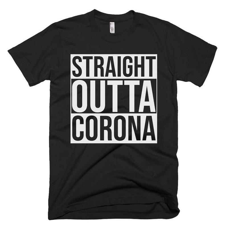 55bb5b567 Corona Tee Corona Shirt Corona Gifts Corona T Shirt   Etsy