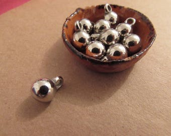 Sphere decoration for jewelry 10 pieces