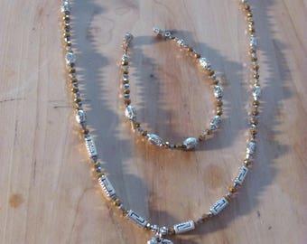 Guardian Angel Necklace and Bracelet Set