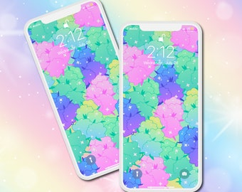 Magical Buds Phone Wallpaper