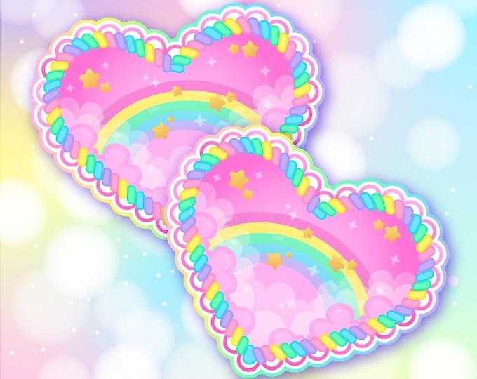 Pastel dreams sticker