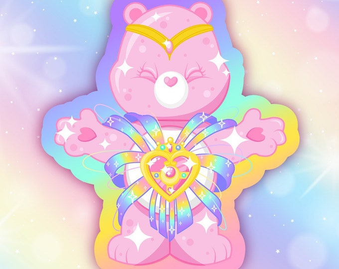 Magical Bear Sticker
