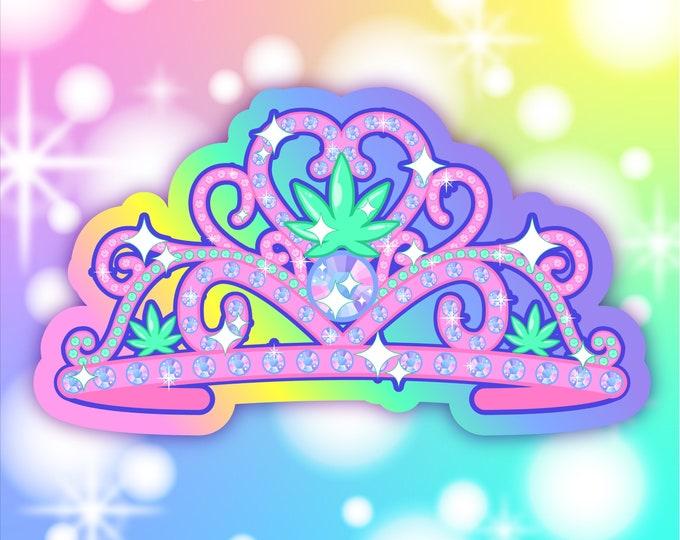 Canna-Queen sticker