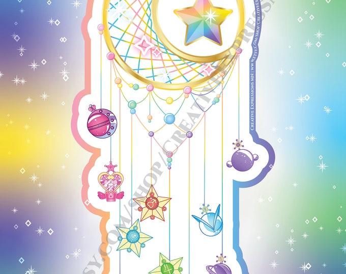 Sailor Scout Dreamcatcher Wallpaper