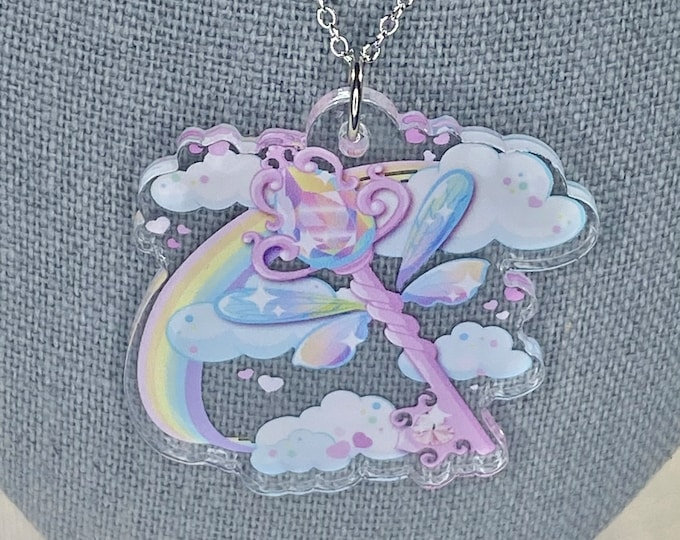Fairy Key Necklace