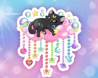 Sailor Luna holo sticker