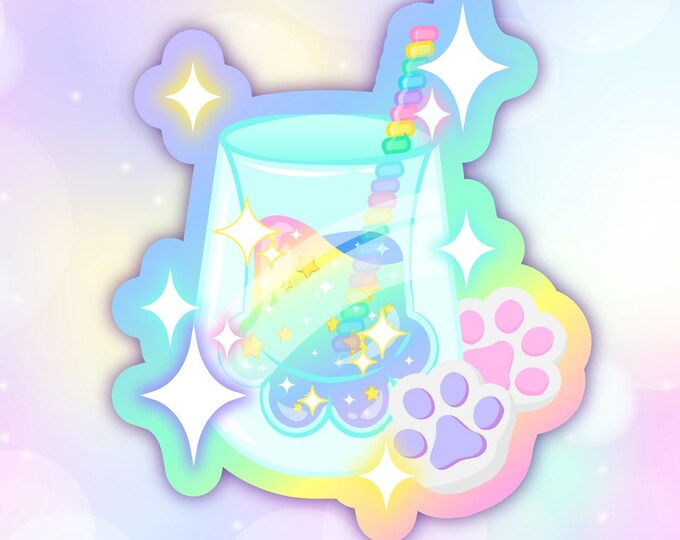 Pastel Fizz sticker