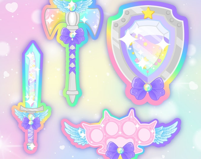 Magical Weapons sticker pack