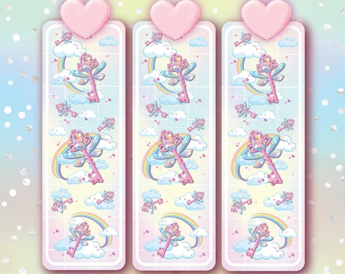 Fairy key bookmark