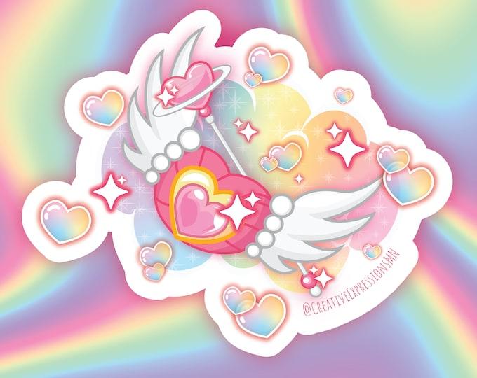 Magical girl chibbi chibbi sticker