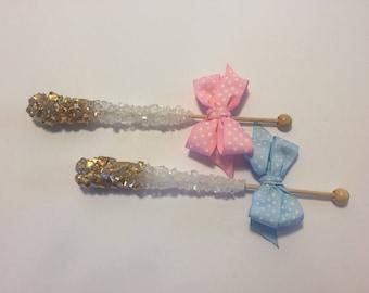 Rock Candy Sticks