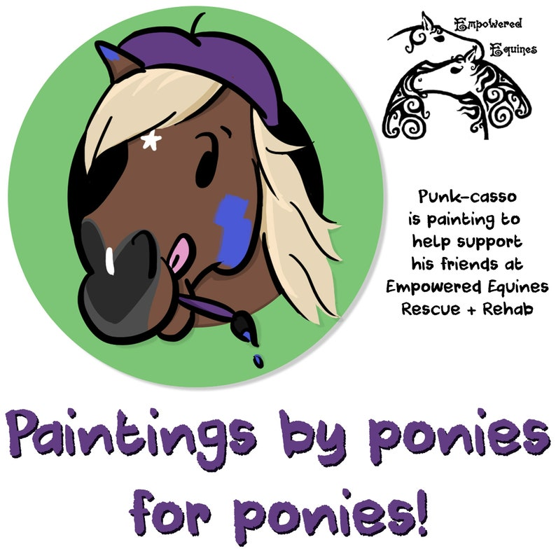 Paintings by Ponies for Ponies image 0