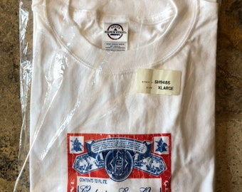 1a77421b Vintage Budweiser American Beer Classic Logo T-Shirt NWT.  Whisper2itVintageCo. 5 out of 5 stars ...