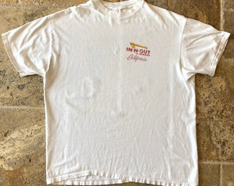 f285319c Vintage In N Out California Classic Sports Car Graphic T-Shirt