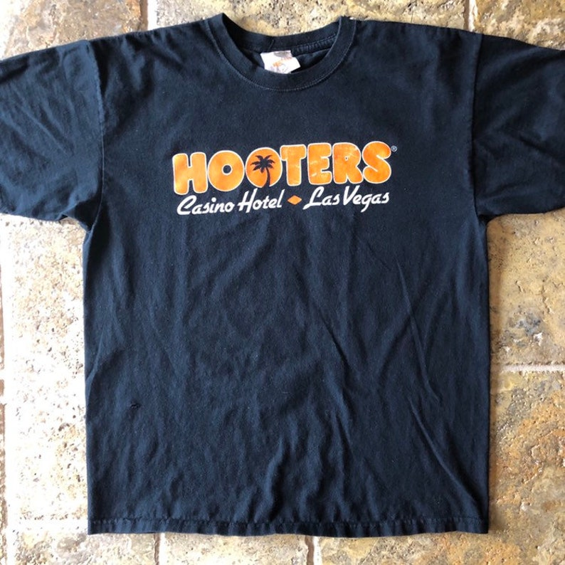 6a60a081805 Vintage Hooters Las Vegas T-Shirt The Cure For The